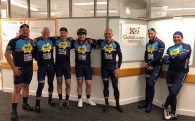 Donation of $100,000 machine for Tour de Cure, I'll have a Pint of Science please and more…